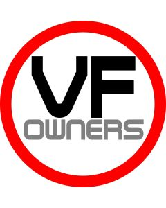 VF1000 Owners Sticker Round